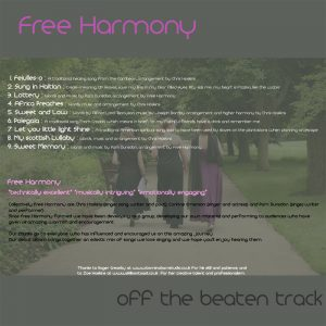 Free Harmony - 'Off the Beaten Track'